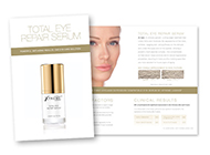 Total Eye Repair Serum Brochures
