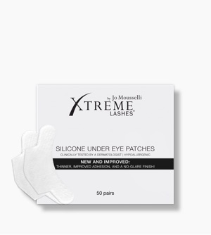 silicone under eye patches matte