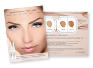 Skin Renewing Concealer Tester Cards – 4 Shades